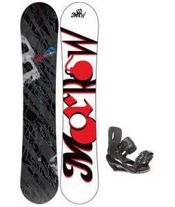 Morrow Fury Wide Snowboard w/ Sapient Wisdom Bindings