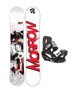 Morrow Radium Wide Snowboard w/ Sapient Stash Bindings