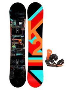 K2 Raygun Snowboard w/ Arctic Edge Team Bindings