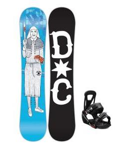 DC Pbj Snowboard w/ Burton Freestyle Bindings