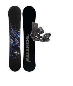 Avalanche Source Snowboard w/ Sapient Fusion Bindings