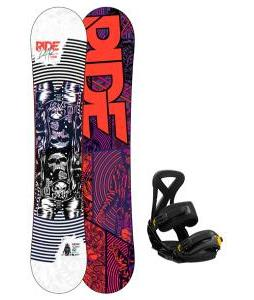 Ride DH2 Snowboard w/ Burton Custom Bindings