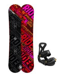 Ride Kink Snowboard w/ Burton Custom Bindings
