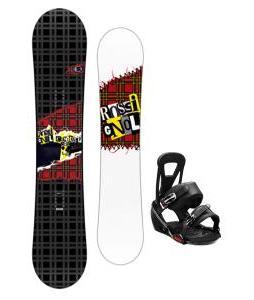 Rossignol Contrast Snowboard w/ Burton Freestyle Bindings