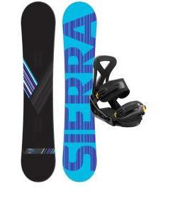 Sierra Reverse Crew Snowboard w/ Burton Custom Bindings