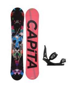 Capita Mindblower LTD Snowboard w/ Burton Mission Bindings