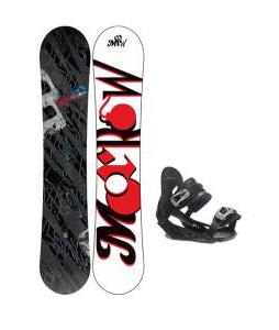 Morrow Fury Wide Snowboard w/ Avalanche Summit Bindings