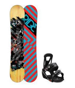 Ride Manic Snowboard w/ Burton Freestyle Bindings