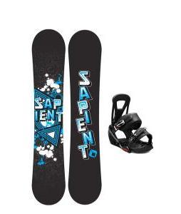 Sapient Trust Snowboard w/ Burton Freestyle Bindings