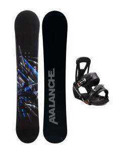 Avalanche Source Snowboard w/ Burton Freestyle Bindings