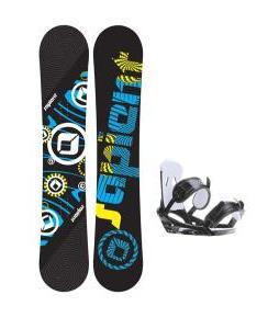 Sapient Cog Snowboard w/ 2117 Of Sweden Storm Bindings