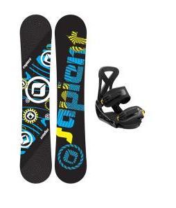 Sapient Cog Snowboard w/ Burton Custom Bindings