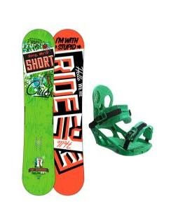 Ride Crush Snowboard w/ K2 Indy Bindings