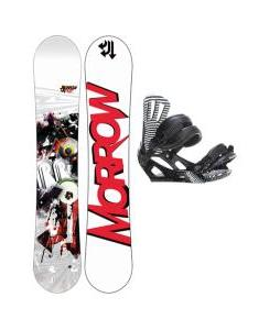 Morrow Radium Wide Snowboard w/ Rossignol Cage Bindings