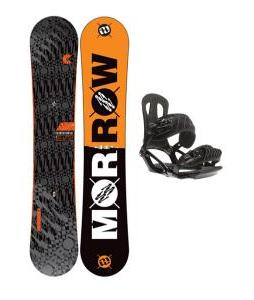 Morrow Clutch Snowboard w/ Head NX One Bindings