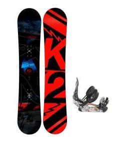 K2 Brigade Wide Snowboard w/ Ride LX Bindings