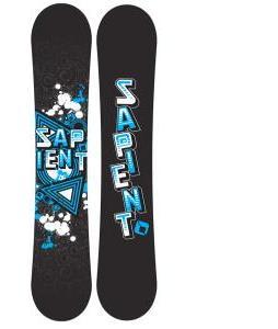 Sapient Trust Wide Snowboard with Sapient Wisdom Snowboard Bindings