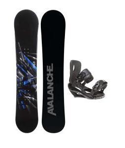 Avalanche Source Snowboard w/ Sapient Wisdom Bindings
