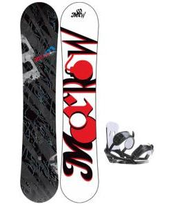 Morrow Fury Wide Snowboard w/ 2117 Of Sweden Storm Bindings