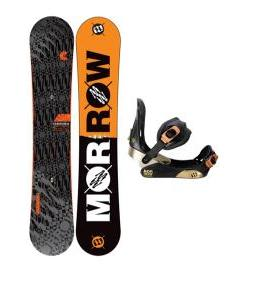 Morrow Clutch Snowboard w/ Invasion Bindings