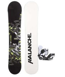 Avalanche Source Snowboard w/ 2117 Of Sweden Storm Bindings
