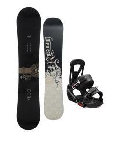 Rossignol Sultan Midwide Snowboard w/ Burton Freestyle Bindings