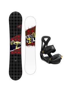 Rossignol Contrast Snowboard w/ Burton Custom Bindings