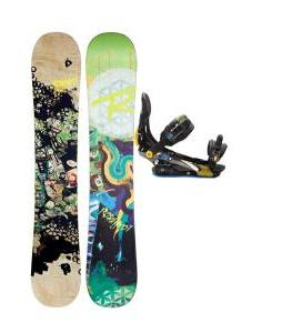 Rossignol Angus Amptek Snowboard w/ Rome S90 Bindings