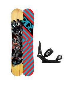 Ride Manic Snowboard w/ Burton Mission Bindings