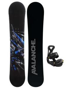 Avalanche Source Snowboard w/ Burton Custom Bindings