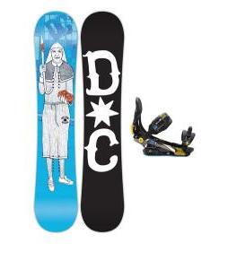 DC Pbj Snowboard w/ Rome S90 Bindings