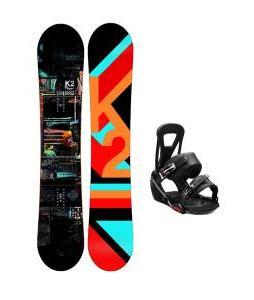 K2 Raygun Snowboard w/ Burton Freestyle Bindings