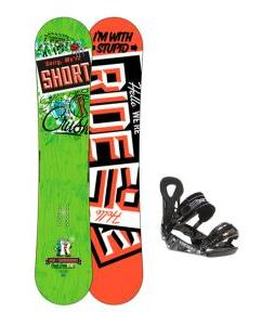 Ride Crush Snowboard w/ LX Bindings