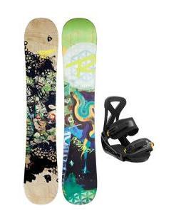 Rossignol Angus Amptek Snowboard w/ Burton Custom Bindings