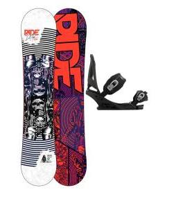 Ride DH2 Snowboard w/ Burton Mission Bindings