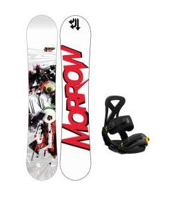 DC Tone Snowboard with Burton Custom EST Snowboard Bindings