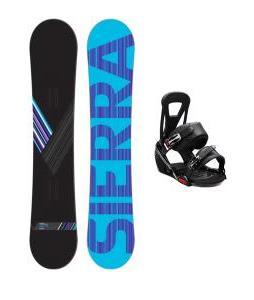 Sierra Reverse Crew Snowboard w/ Burton Freestyle Bindings