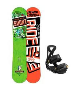 Ride Crush Snowboard w/ Burton Custom Bindings