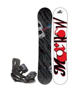 Morrow Fury Wide Snowboard w/ Sapient Fusion Bindings