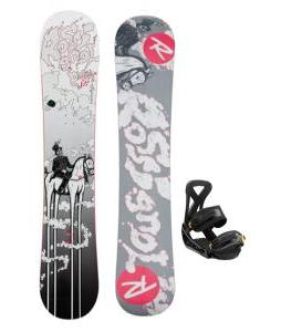 Rossignol District Amptek Snowboard w/ Burton Custom Bindings