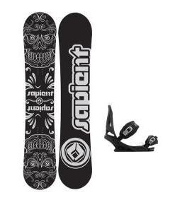 Sapient Outlaw Snowboard w/ Burton Mission Bindings