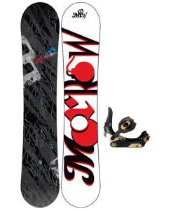 Morrow Fury Snowboard w/ Invasion Bindings