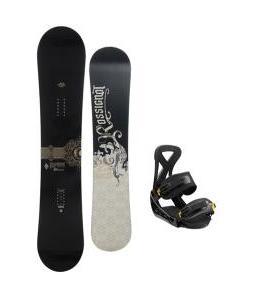 Rossignol Sultan Midwide Snowboard w/ Burton Custom Bindings
