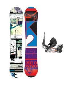 K2 Raygun Snowboard w/ Ride LX Bindings