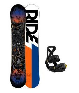 Ride Berzerker Snowboard w/ Burton Custom Bindings