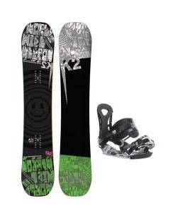 K2 WWW Rocker Wide Snowboard w/ Ride LX Bindings