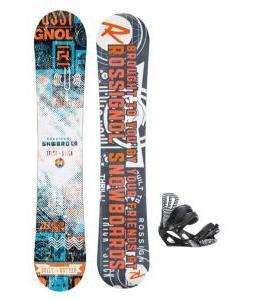 Rossignol Trickstick CYT Amptek Snowboard w/ Rossignol Cage Bindings