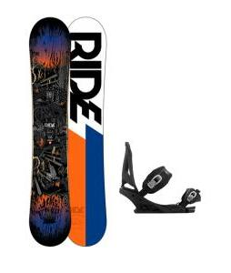 Ride Berzerker Snowboard w/ Burton Mission Bindings