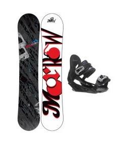 Morrow Fury Snowboard w/ Avalanche Summit Bindings