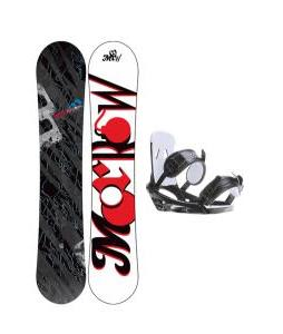 Morrow Fury Snowboard w/ 2117 Of Sweden Storm Bindings